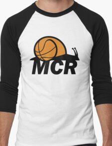 WBMCR Logo Men's Baseball ¾ T-Shirt