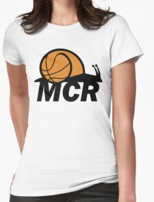 WBMCR Logo Womens Fitted T-Shirt
