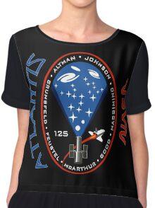 Atlantis STS-125 Mission Patch Chiffon Top