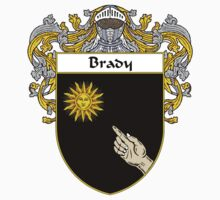 Brady Coat of Arms/Family Crest Baby Tee