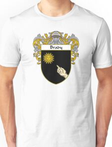 Brady Coat of Arms/Family Crest Unisex T-Shirt
