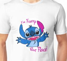Stitch - Fluffy but fierce Unisex T-Shirt