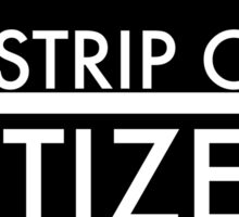 AIRSTRIP ONE CITIZEN Sticker