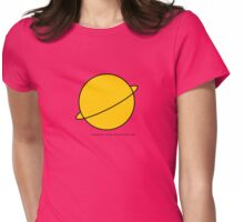 Saturn Girl, Legion of Superheroes Womens Fitted T-Shirt