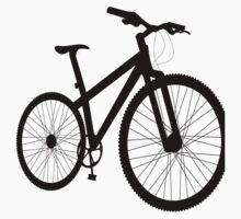 Bicycle silhouette Kids Tee