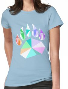 Bear Paw Colors Womens Fitted T-Shirt