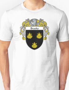 Brooks Coat of Arms/Family Crest Unisex T-Shirt