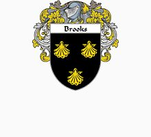 Brooks Coat of Arms/Family Crest Unisex T-Shirt