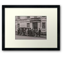 The Mob at the Courthouse Framed Print
