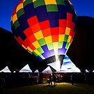 Balloon Glow by Ray Chiarello
