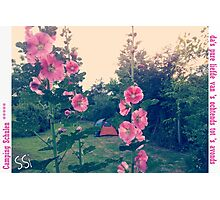Camping Schulen ***** Photographic Print
