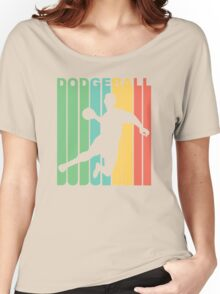 Retro Dodgeball Women's Relaxed Fit T-Shirt