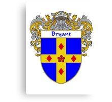 Bryant Coat of Arms/Family Crest Canvas Print