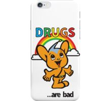 Pipo-Kun - Drugs Are Bad iPhone Case/Skin
