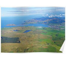 Campbeltown & Davvar Island Mull of Kintyre  Poster