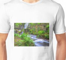 The Green Waterfall Unisex T-Shirt