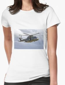 RAF AugustaWestland Merlin HC.3 Helicopter, ZJ123 Womens Fitted T-Shirt