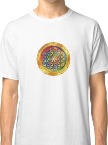 The Flower of Life - dark Classic T-Shirt