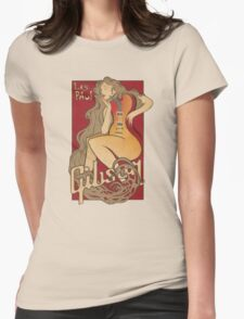 Vintage guitar Gibson Les Paul Womens Fitted T-Shirt