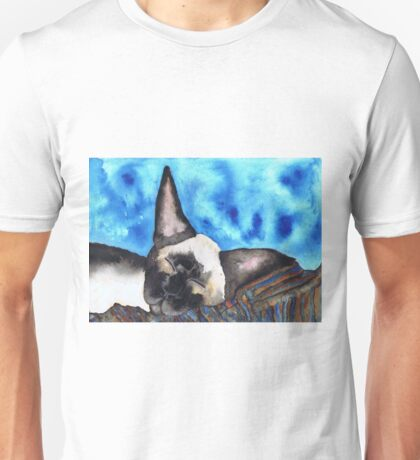 SLEEPING SIAMESE Unisex T-Shirt