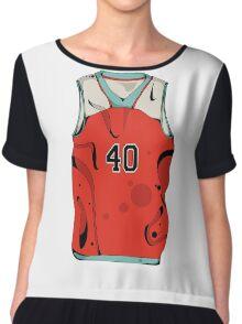 Basketball player jersey Chiffon Top