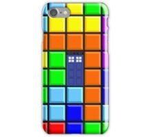 Tardis Tetris iPhone Case/Skin