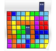 Tardis Tetris Poster