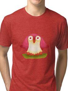 Pink Pingu Tri-blend T-Shirt