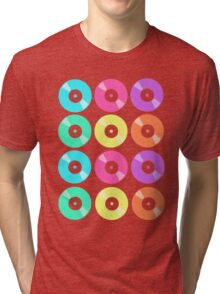 Records on Repeat Tri-blend T-Shirt