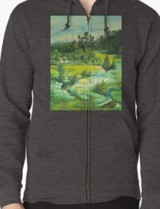 green valley Zipped Hoodie