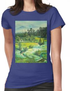 green valley Womens Fitted T-Shirt