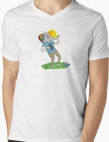 Brother Nature Mens V-Neck T-Shirt