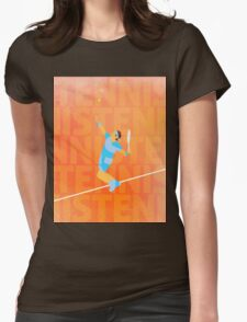Tennis love Womens Fitted T-Shirt