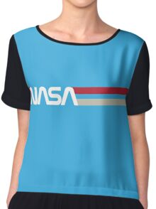 Retro NASA Chiffon Top
