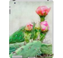 Cactus Pink Blooms iPad Case/Skin