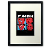 Talking Heads - Remain in Light Framed Print
