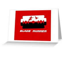 The Blade Runner Greeting Card