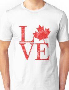 Canadian Love Affair Unisex T-Shirt
