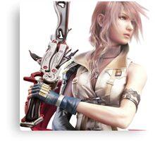 Final Fantasy XIII - Lightning Returns Metal Print