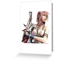 Final Fantasy XIII - Lightning Returns Greeting Card