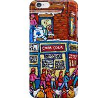 VINTAGE MONTREAL BAGEL SHOP iPhone Case/Skin