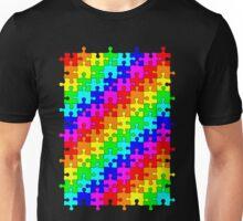 Jigsaw rainbow Unisex T-Shirt