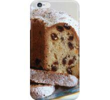 Cupcake with raisins close to iPhone Case/Skin
