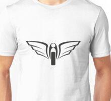 Motorbike Wing Emblem Unisex T-Shirt