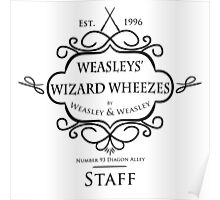 Weasleys' Wizard Wheezes V3 Staff Shirt Poster