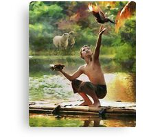 CM10452 - I love the nature Canvas Print