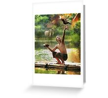 CM10452 - I love the nature Greeting Card