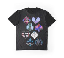 Mad T Party - Black Graphic T-Shirt