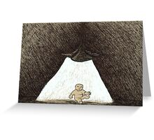 Inky Child Greeting Card