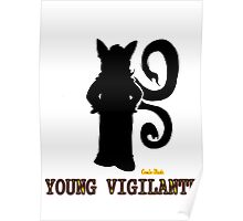 Young Vigilante - Light of the Black Angel Poster